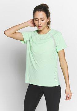 ONLY Play - ONPPERFORMANCE TRAINING LOOSE - T-Shirt basic - green ash/black