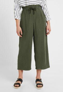 Miss Selfridge Petite - ROPE CASUAL TROUSERS - Trousers - khaki