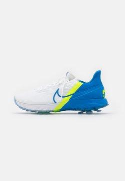 Nike Golf - AIR ZOOM INFINITY TOUR - Golfschuh - white/baseball blue/volt