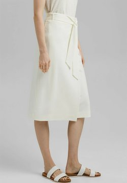 Esprit Collection - Jupe portefeuille - off white