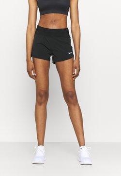 Nike Performance - ECLIPSE SHORT - Korte broeken - black/silver