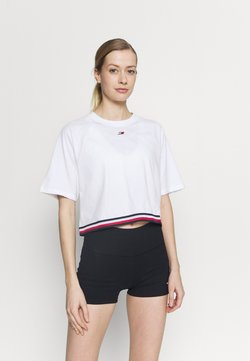 Tommy Hilfiger - RELAXED TEE - T-Shirt print - white