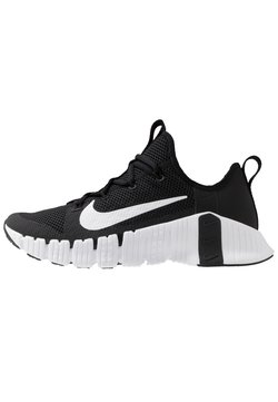 Nike Performance - FREE METCON 3 - Sports shoes - black/white/volt