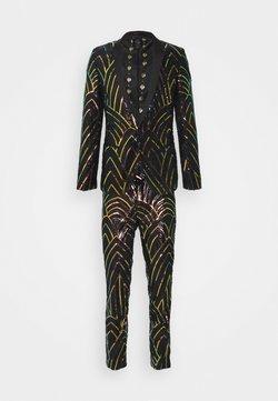 Twisted Tailor - FORRESTER SUIT SET - Costume - black