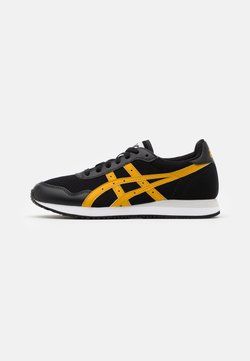 ASICS SportStyle - TIGER RUNNER UNISEX - Sneakers laag - black/mustard seed