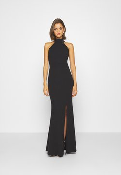 WAL G. - HALTER NECK DRESS - Ballkleid - black