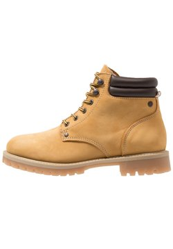 Jack & Jones - JFWSTOKE WARM - Schnürstiefelette - honey