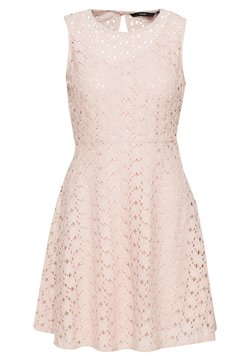 Vero Moda - VMALLIE  - Cocktailkleid/festliches Kleid - sepia rose