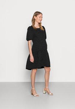 Pieces Maternity - PCMILLU DRESS - Sukienka letnia - black