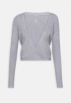 Capezio - WRAP - Trainingsjacke - light grey