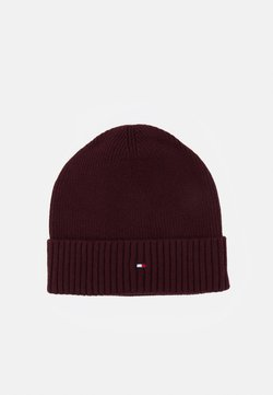 Tommy Hilfiger - PIMA COTTON BEANIE - Beanie - red