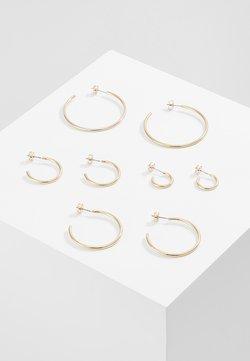 ONLY - ONLPAXA HOOP 4 PACK - Earrings - gold-coloured