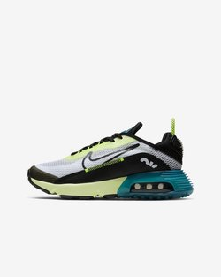 Nike Sportswear - AIR MAX 2090 - Sneaker low - white/black-volt-blue force