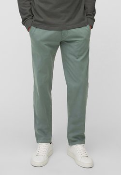 Marc O'Polo - IN DOBBY-QUALITÄT - Chino - balsam green