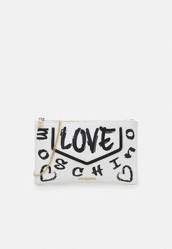 Love Moschino - CHAIN GRAFFITI - Clutch - fantasy color