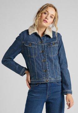 Lee - SHERPA RIDER - Veste en jean - vintage danny