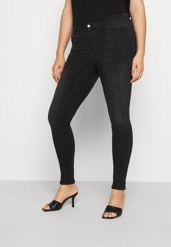 JUNAROSE - by VERO MODA - JRFOUR SHAPE - Jeans Skinny Fit - dark grey denim