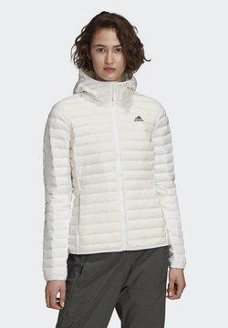 adidas Performance - VARILITE SOFT HOODED  - Softshelljacke - white