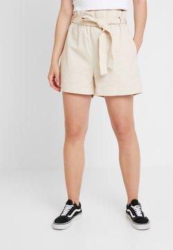NA-KD - PAPER BAG - Jeansshort - beige