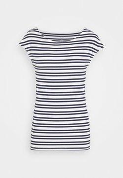 Gap Tall - BATEAU STRIPE - T-Shirt print - navy