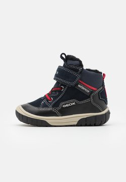 Geox - OMAR BOY WPF - Chaussures premiers pas - navy/black