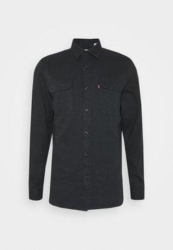 Levi's® - JACKSON WORKER UNISEX - Skjorta - black denim rinse