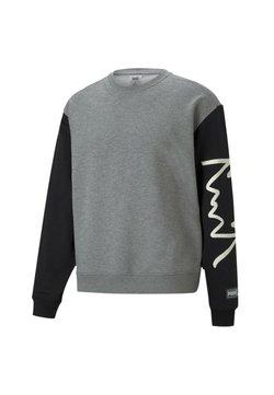 Puma - Collegepaita - medium gray heather