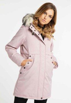 DreiMaster - Wintermantel - rosa melange