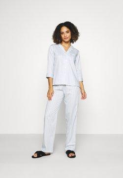 Lauren Ralph Lauren - SLEEVE NOTCH COLLAR - Pyjama - blue