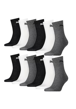 Puma - 12 PACK - Sportsocken - 882 - grey/white/black