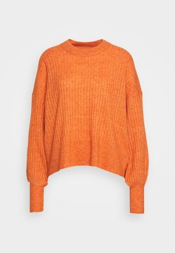 Won Hundred - BLAKELY O NECK - Strickpullover - nectarine