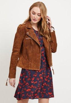 Vila - VICRIS - Veste en cuir - brown