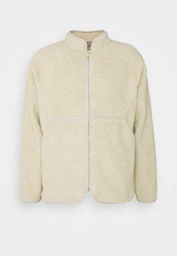 Folk - PUZZLE ZIP - Fleece jacket - natural