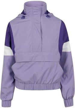 Urban Classics Curvy - LADIES LIGHT JACKET - Leichte Jacke - lavender/ultraviolet/white