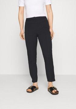 Selected Femme Petite - SLFILUE PINTUCK PANT - Pantalones - black
