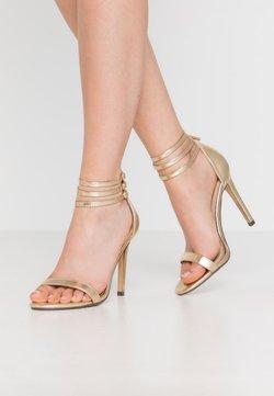 4th & Reckless - DEXTER - High Heel Sandalette - gold