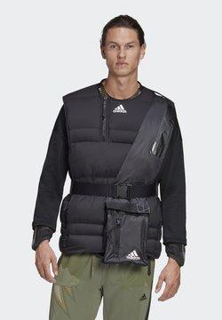 adidas Performance - URBAN COLD.RDY OUTDOOR DOWN VEST - Daunenjacke - schwarz