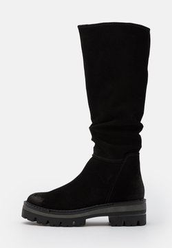 Marco Tozzi - BOOTS  - Plateaustiefel - black