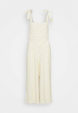 Gilly Hicks - PRINTED COZY JUMPSUIT - Beach accessory - yellow