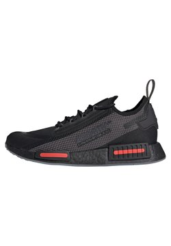 adidas Originals - NMD_R1 SPECTOO UNISEX - Sneaker low - core black/grey five/solar red