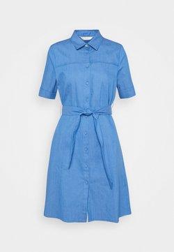 Nümph - NUCATHLEEN DRESS - Vestido vaquero - medium blue denim