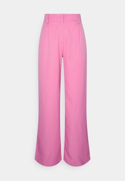 YAS - YASSERENA WIDE PANTS - Broek - fuchsia pink