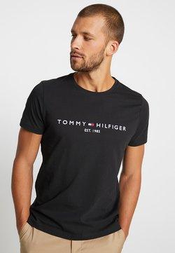 Tommy Hilfiger - LOGO TEE - T-shirt print - blue