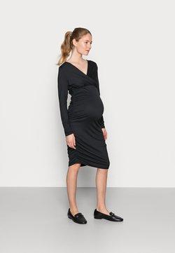 MAMALICIOUS - NURSING DRESS - Etuikjoler - black
