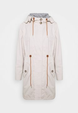 Esprit - WASHED - Parka - cream beige