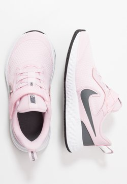 Nike Performance - REVOLUTION 5 - Obuwie do biegania treningowe - pink foam/dark grey