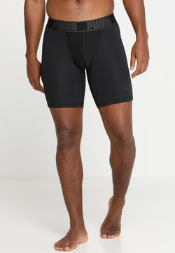 Puma - ACTIVE LONG BOXER PACKED - Bokserit - black