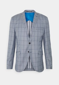 Selected Homme - SLHSLIM KYLELOGAN - Blazer jacket - light blue/blue
