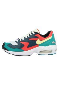 Nike Sportswear - AIR MAX LIGHT  - Baskets basses - habanero red