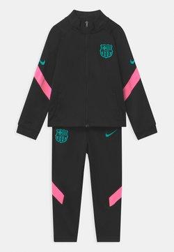 Nike Performance - FC BARCELONA SET UNISEX - Equipación de clubes - black/pink beam/new green